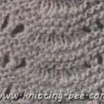 free knitting pattern scallop stitch