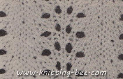 Free Wave Stitch Knitting Pattern