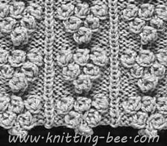 Knit a cabled plait and bobble sweater: free pattern