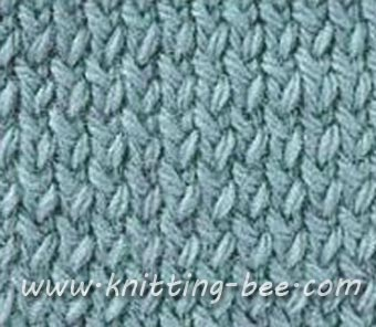 Twisted Stockinette Stitch Knitting Pattern
