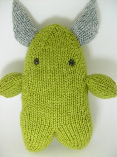 monster knit pattern