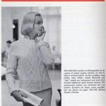 free aran vintage cardigan knitting pattern