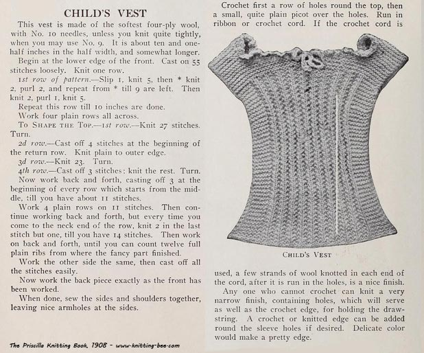 Knitting Pattern Vest Child : 1000+ images about Art/Craft: Yarn & String on Pinterest Yarns, Knittin...