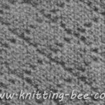 Diamond Brocade Stitch Knitting