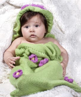 Knit Baby Sack Pattern Free