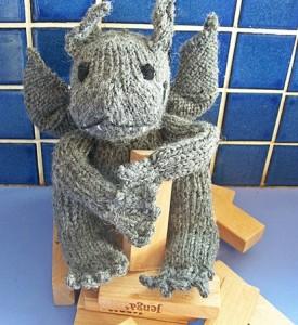 knitted gargoyle