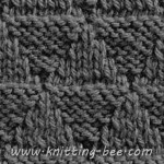 knitting stitch pyramid