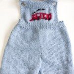 overall baby knit