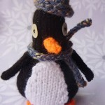 Penguin patter knit