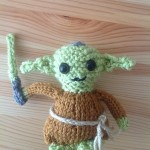 knitted yoda pattern