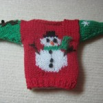 knitted christmas ornament pattern free