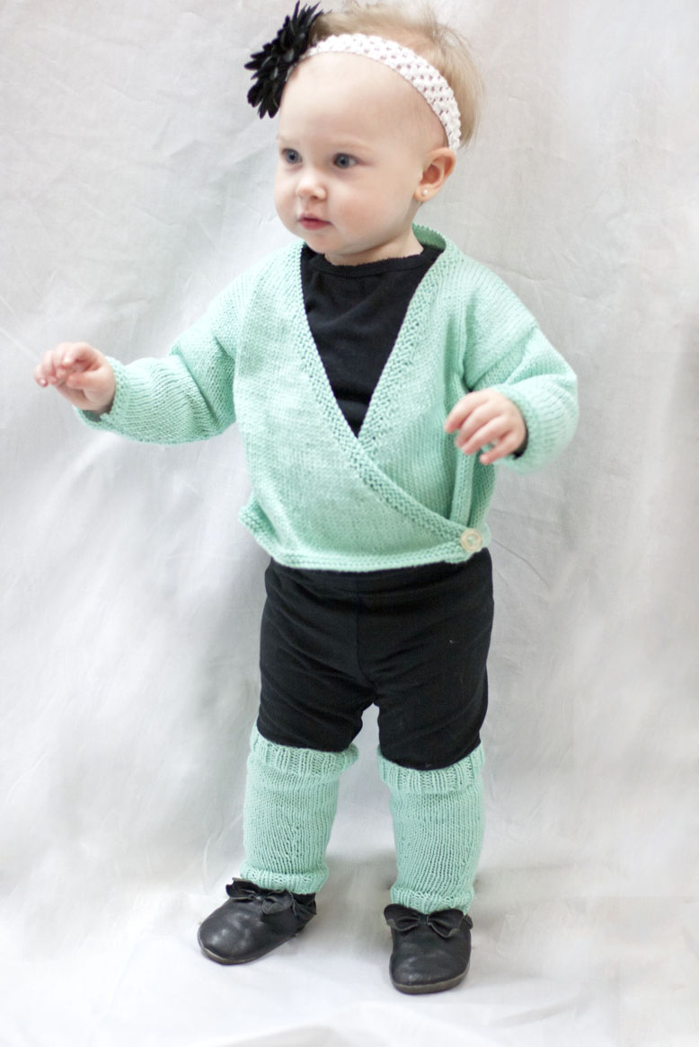 Knitting Pattern For Ballet Cardigan - White Polo Sweater