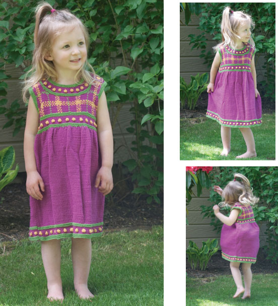 Baby Sweater Dress Knitting Pattern Dress Knitting Pattern