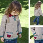 apple girl sweater knit pattern