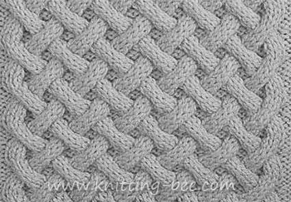 aran stitch knitting pattern