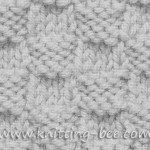 Hazelnut Stitch Knitting Pattern