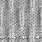 caterpillar stitch pattern knitting treasury