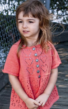 Hugs and Kisses Kids Cardigan