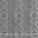 Free Kisses and Hugs Stitch knitting pattern.