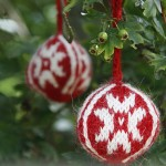 Christmas Balls in Alpaca