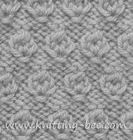 Hazel nut Stitch Knitting Pattern
