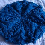 bobbles beret knit