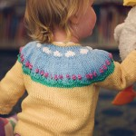 toddler girl knitted cardigan