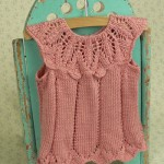 knitted baby tee