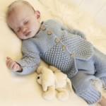 baby set knitting pattern