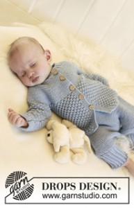 baby-jacket-pants-socks-knit-set-pattern - Knitting Bee