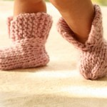 knitted booties pattern