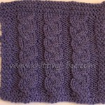 knitting pattern braided dishcloth