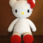 hello kitty free knit pattern