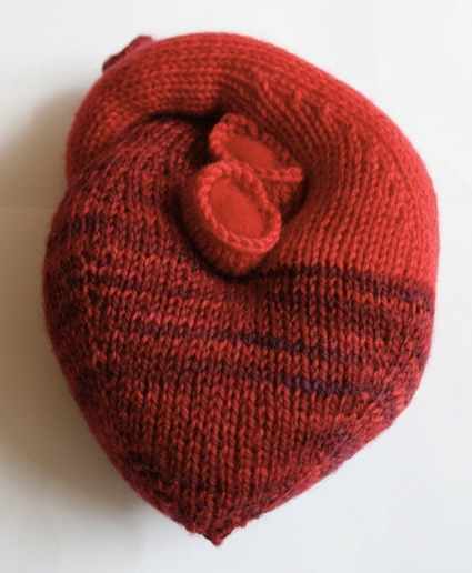 Heart Knit ⋆ Knitting Bee