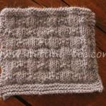 Knotted Ribbons Knitting Stitch