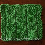 free cable knitting stitch pattern