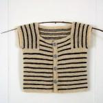 striped baby sweater knit pattern