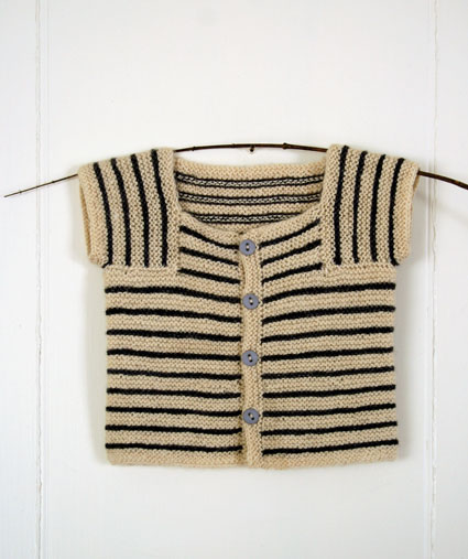 Knitting Pattern Striped Sweater : striped-baby-sweater-knit ? Knitting Bee