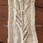 Tulip Motif Knitting pattern