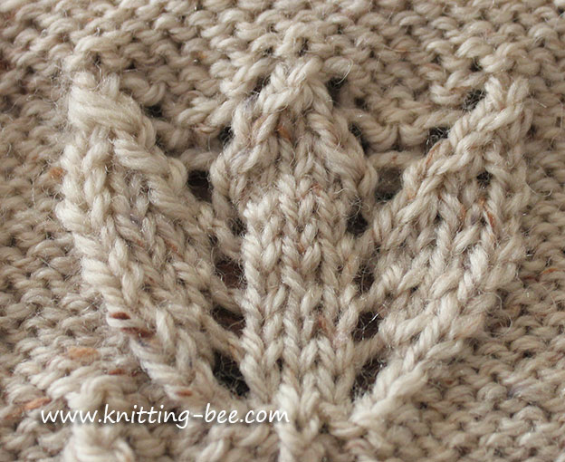 Tulip Motif Knitting