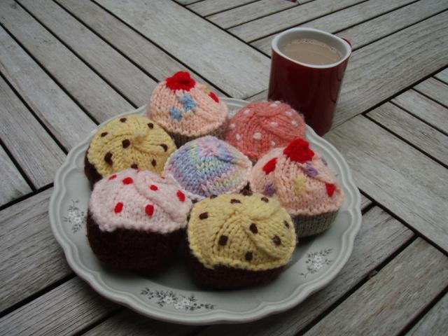 free cupcakes pattern