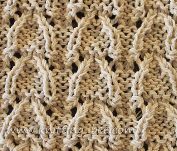Instructions On Knitting Stitches : Cable, Patterns and Stitches on Pinterest