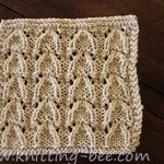 Vaulted Arched Lace Knitting Stitch