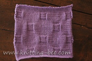 cobblestones stitch and dishcloth pattern