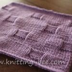 cobblestones stitch and dishcloth pattern