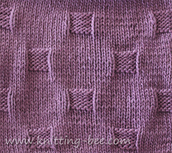 Knitting Bee Stitch Library : Easy Peasy Dishcloths Knitting Bee LONG HAIRSTYLES