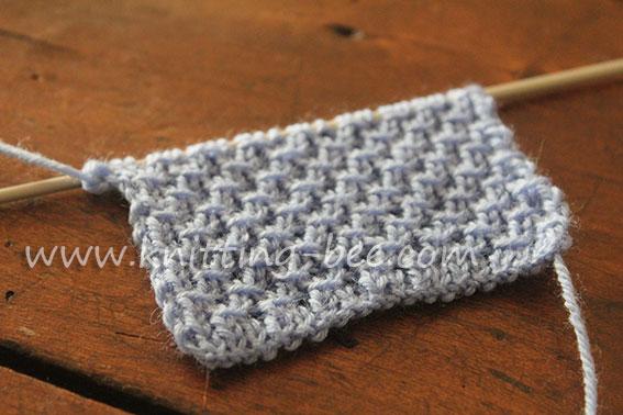 Diagonal Cross Stitch Knitting Pattern 3 Knitting Bee