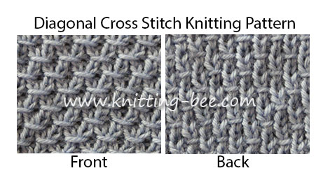 DIAGONAL CROCHET PATTERN | Crochet and Knitting Patterns