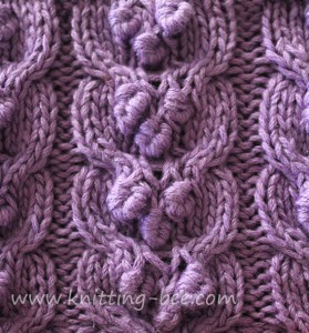 free-fancy-cable-bobble-knitting-stitch-pattern