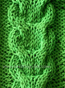 link-cable-knitting-stitch ? Knitting Bee